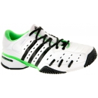 Adidas Barricade V Mens Tennis Shoes (White/ Black/ Lime) - Adidas Barricade V Classic Tennis Shoes