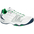 Prince Men's T22 Tennis Shoe (White/Blue/Green) - Prince Tennis Shoes