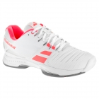 Babolat Women's SFX2 All Court Tennis Shoes (White/Pink) - Types of Tennis Shoes