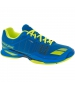 Babolat Men's Jet Team All Court Tennis Shoes (Blue/Yellow) [copy] - Lightweight Tennis Shoes