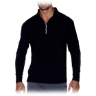 Bloq-UV Men's Mock Zip Long Sleeve Top - Tennis Online Store