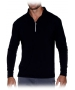 Bloq-UV Men's Mock Zip Long Sleeve Top - Bloq-UV
