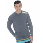 BloqUV Men's Long-Sleeve Sun Protective Jet Tee (Smoke) - Bloq-UV