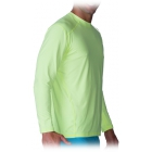 Bloq-UV Men's Jet-Tee Long Sleeve Top (Key Lime) - Men's Tops