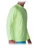 Bloq-UV Men's Jet-Tee Long Sleeve Top (Key Lime) - Men's Long-Sleeve Shirts