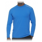 Bloq-UV Men's Jet-Tee Long Sleeve Top (Ocean Blue) - Men's Tops