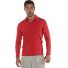 BloqUV Men's UPF 50+ Long-Sleeve Collared Shirt (Red) - Bloq-UV