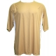 A4 Men's Performance Color Block Crew Shirt (Vegas Gold) CLOSEOUT - Xtra 15% Off - Clearance Tennis Apparel