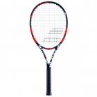 Babolat Evoke 105 Strung Tennis Racquet (Black/Orange) -