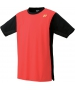 Yonex Men's Stan Tour Finals Tennis Shirt (Flash Orange) - Men's Tennis Apparel