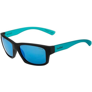 12463 Bollé Holman Floatable Sunglasses (Black Crystal/Blue Matte)
