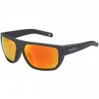 Bollé Vulture Sport Sunglasses (Matte Black/Brown Fire) -