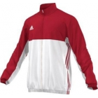 Adidas Men's T16 CC Team Tennis Jacket (Red/White) - New Style Tennis Apparel