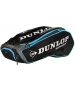 Dunlop Performance 12 Racquet Tennis Bag (Black/Blue) - Dunlop