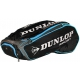 Dunlop Performance 12 Racquet Tennis Bag (Black/Blue) - 9 and 12+ Racquet Tennis Bags