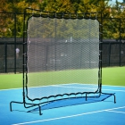 Courtmaster Deluxe Tennis Rebound Net and Frame 9'W x 7'H -