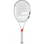 Babolat Pure Strike Jr 26 Tennis Racquet (White/Red) - Tennis Racquets