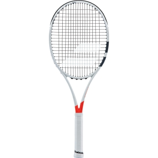 Babolat Pure Strike Jr 25 Tennis Racquet (White/Red)
