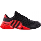 Adidas Men's Barricade 2015 Tennis Shoes (Blk/ Red) - Brands