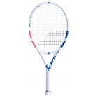 Babolat Pure Drive Junior 25 Inch Tennis Racquet (White/Pink/Blue) - Junior Tennis Racquets