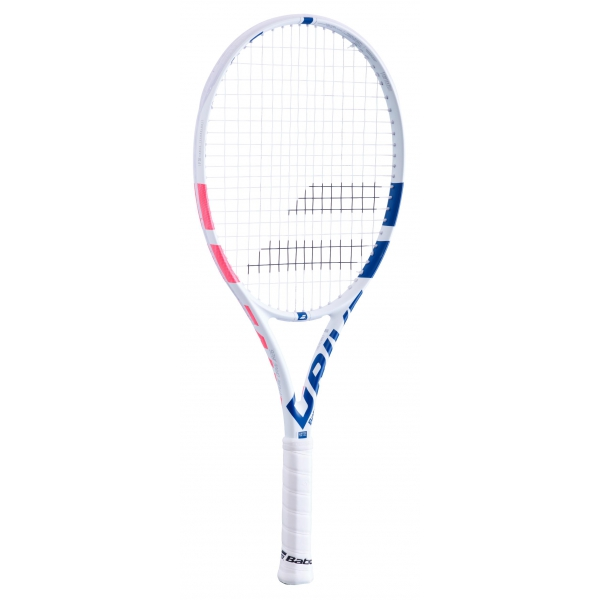 Babolat Pure Drive Junior 26 Inch Tennis Racquet (White/Pink/Blue)