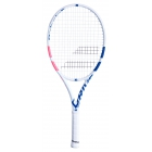 Babolat Pure Drive Junior 26 Inch Tennis Racquet (White/Pink/Blue) - Junior Tennis Racquets