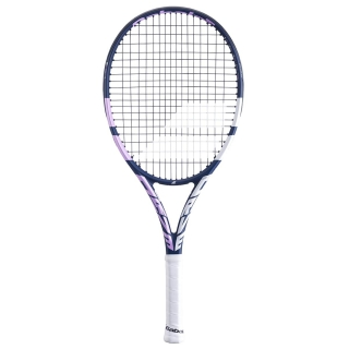 Babolat Pure Drive Junior 25 Inch 10th Gen Tennis Racquet (Blue/Pink)