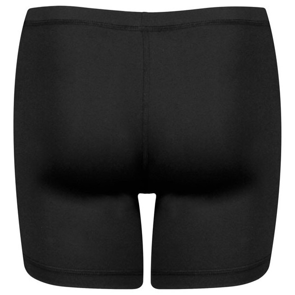 Sofibella Women's Ball Pocket Tennis Shorties (Black)