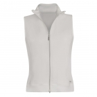 Sofibella Women's SofiFleece Tennis Vest (White) - Sofibella Women's Tennis Jackets and Pants