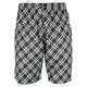 Yonex Men's Wawrinka Australian Open Tennis Shorts (Plaid Black) - Men's Shorts