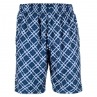 Yonex Men's Wawrinka Australian Open Tennis Shorts (Plaid Blue) - Tennis Apparel