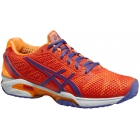 Asics Women's GEL-Solution Speed 2 Tennis Shoes (Hot Coral/ Lavender/ Nectarine) - Asics Tennis Shoes
