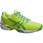 Asics Women's GEL-Solution Speed 2 Tennis Shoes (Flash Yellow/ Mint/ Sharp Green) - Asics Gel-Solution Speed Tennis Shoes