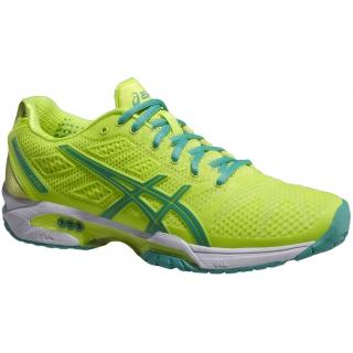 Chaussures Yellow de tennis Asics femmes GEL Solution Speed 19954 2 pour femmes (Flash Yellow/ Mint) 66c7b55 - trumpfacts.website