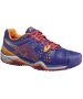 Asics Women's Gel Resolution 6 Shoes (Lavender/ Coral/ Nectarine) - Asics Gel-Resolution Tennis Shoes
