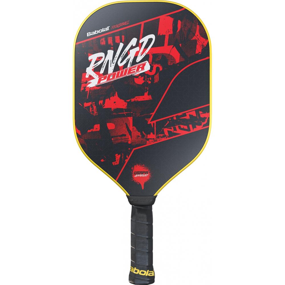 160001 Babolat RNGD Power Pickleball Paddle (Black/Dark Red)