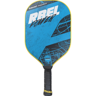 160003 Babolat RBEL Power Pickleball Paddle (Sky Blue/Black)
