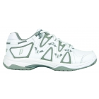 Prince Women's Scream 4 Tennis Shoe (White/Silver) - Prince Tennis Shoes