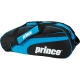 Prince Club 6 Pack Tennis Bag (Black/ Blue) - MAP Products
