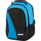 Prince Club Backpack Tennis Bag (Black/ Blue) - Prince Tennis Bags