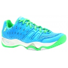 Prince Women's T22 Tennis Shoes (Sky/Mint) - Prince T-22 Series Tennis Shoes