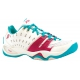 Prince Women's T22 Tennis Shoes (White/ Aqua/ Pink) - Prince Tennis Shoes