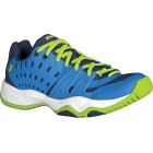 Prince Junior's T22 Tennis Shoe (Cobalt/ Lime) - Prince Tennis Shoes