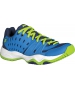 Prince Junior's T22 Tennis Shoes (Cobalt/ Lime) - Kids Tennis Shoes