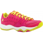 Prince Junior's T22 Tennis Shoe (Pink/ Yellow) - Prince Tennis Shoes