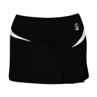 DUC Compete Women's Skirt w/ Power Tights (Black) - DUC Women's Apparel Tennis Apparel