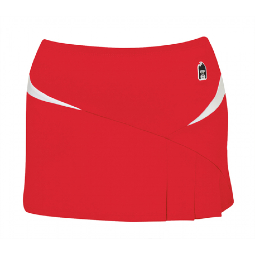 DUC Compete Women's Skirt w/ Power Tights (Red)