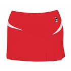 DUC Compete Women's Skirt w/ Power Tights (Red) - Women's Tennis Apparel