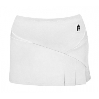 DUC Compete Women's Skirt w/ Power Tights (White)