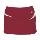 DUC Compete Women's Skirt w/ Power Tights (Cardinal) -